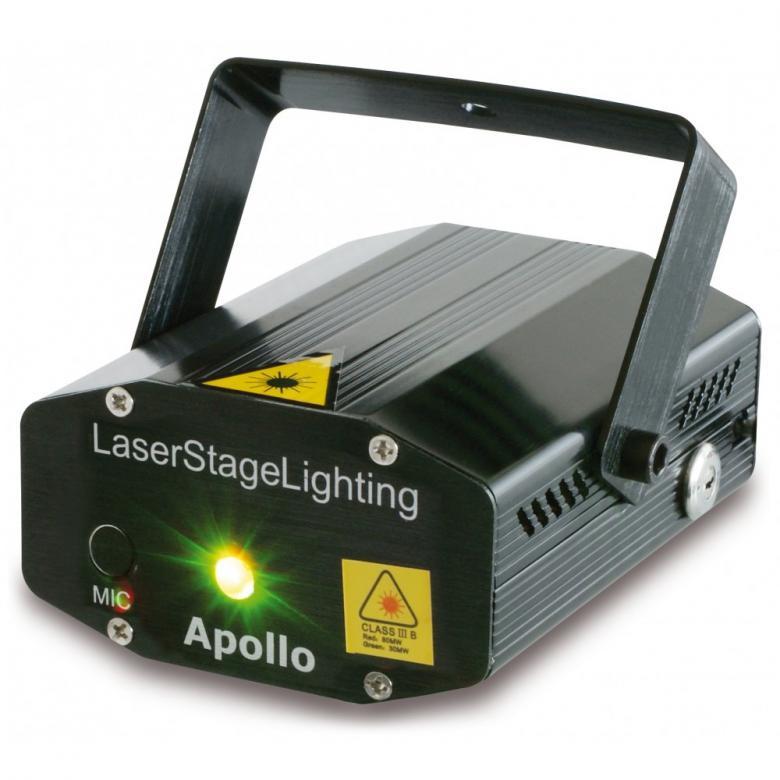 BEAMZ LA-RG1 Monipiste Laser valoefekti Apollo Vihreä ja punainen, Multipoint Laser - Red/Green 170mW! Todella näyttävä monivärinen laser valoefekti. Kompakti 3B luokan minilaser, punainen laser 120mW, vihreä laser 50mW, mahtava efekti discoihin, baareihin, bileisiin. Luokka 3B, säädettävä moottori, automaatti- tai ääniohjaus. Sisäänrakennettu tuuletin, mukana virtalähde.
