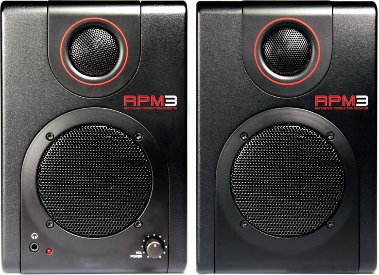 AKAI RPM3 PRO Monitorikaiuttimet USB. äänikortilla, suoraan USB kiinni ja äänet tulee tietokoneesta! Akai RPM3 on pienikokoinen, mutta korkealaatuinen kaiutinpari joka kulkee helposti mukana. Sisäänrakennetun USB-äänikortin ansiosta pystyt nauhoittamaan ääntä käyttäen kaiuttimen takana olevia RCA- ja plugiliitäntöjä etkä tarvitse erillistä äänikorttia. 80-20 kHz taajuusvaste. Magneettisuojattu,2 RCA- ja 2 plugi sisäänmenoa, Kuulokeliitäntä, Äänenvoimakkuuden säätö