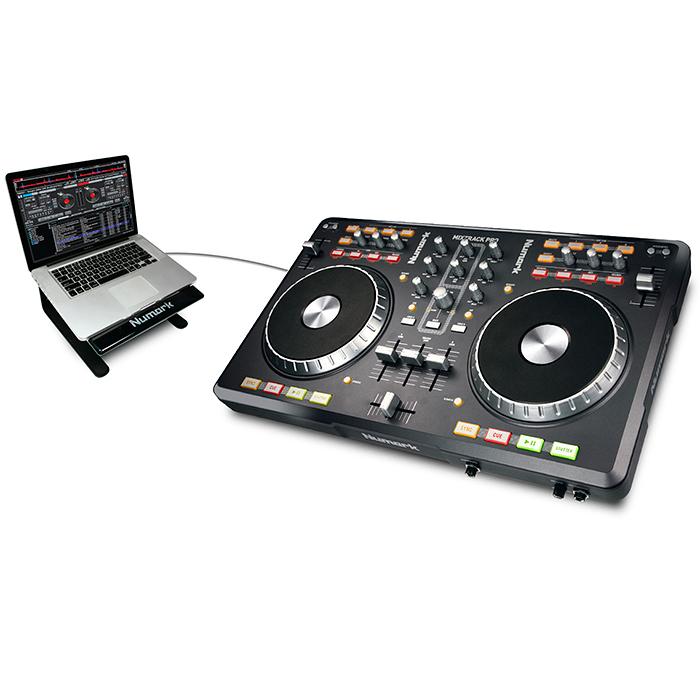 NUMARK <b><font color=red>POISTO!</font></b> Mixtrack PRO Digital DJ Interface, DJ kontrolleri varustettu interfacella + Traktor LE softalla. kesahinta