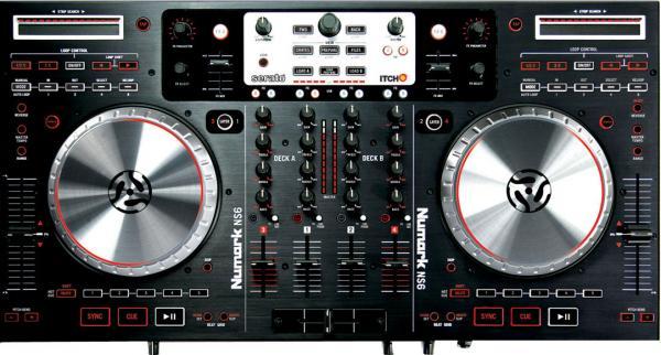 NUMARK NS6 on ammattitason DJ-kontroller, discoland.fi