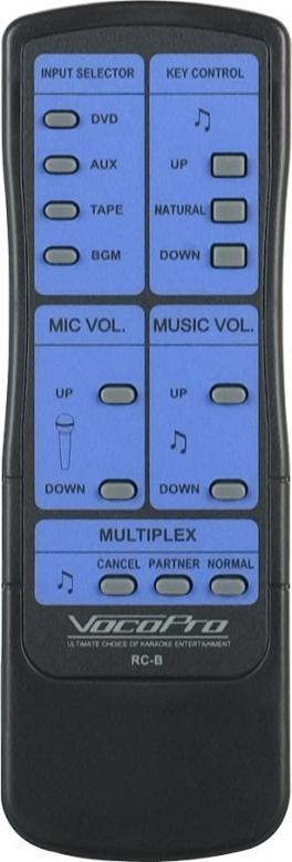 VOCOPRO DA-9800RV 600W Mikserivahvistin, ammattitason vahvistin Pro tason w/DSP Reverb efekteillä, Karaoke-Mikserivahvistin!Ylpeänä esittelemme maailman ensimmäinen Vocal mikserivahvistin Dual Digital prosessorilla. DA-9800 RV! Laulajat ja karaokejuontajat voivat nyt luoda