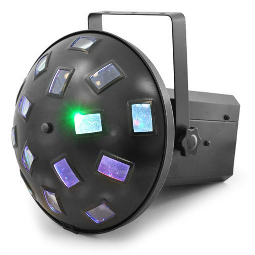 BEAMZ Asopus LED Mushroom DMX 18W 6x 3W, Effect with LED technology, LED-valoefekti!