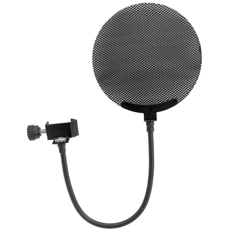 OMNITRONIC Pop-filtteri mikrofonille, me, discoland.fi