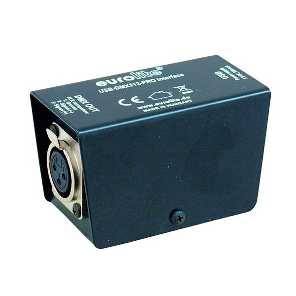 EUROLITE USB-DMX512-PRO Interface-Valoohjain. jos sinulla on tietokone valojen ohjaukseen niin et tarvitse muuta, softan saat ladattua ilmaiseksi netistä! Lataa ilmainen softa netistä ja liitä tämä tuote kiinni tietokoneeseen. Käytössäsi on 512 DMX-kanavaa. Muuta tietokoneesi helposti valo-ohjaimeksi.