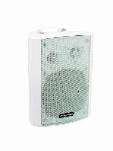 OMNITRONIC WP-5W PA wall speaker white 30W RMS, varustettu tehon valitsimella!