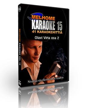 MELHOME Vol 15 Olavi Virta 2 KARAOKE DVD, discoland.fi