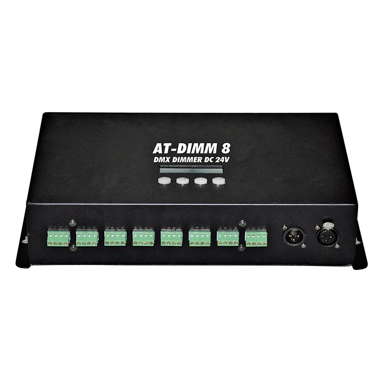 EUROLITE AT-DIMM 8 DMX LED-himmennin DC , discoland.fi