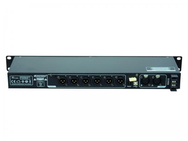 OMNITRONIC DXO-26E Digital controller Digital Stereo Active Crossover 19