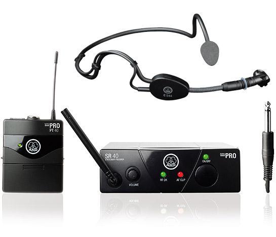 AKG> BUNDLE WMS 40 SPORT Mini Headset la, discoland.fi
