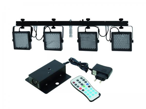 EUROLITE LED KLS-401 IR SET RGB DMX 4 sp, discoland.fi