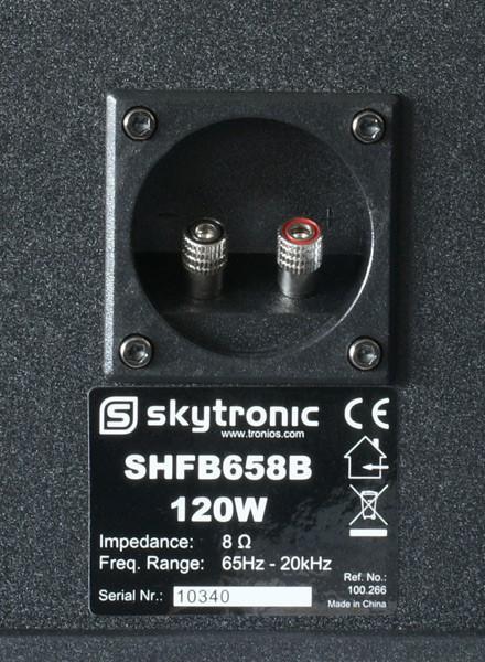 SKYTRONIC SHFB658B hyllykaiutin musta 52 pari. Black (Set)Hyllykaiutin pari, Hifiä kotiin! SkyHifi. Hintaluokassaan pistämätön hyllykaiutin pari, 2 kpl, boxeja<br /> sekä musiikkitehoa 120W, väri musta. Toimitetaan upeassa neliväri pakkauksessa, joten  soveltuu vaikka lahjaksi!