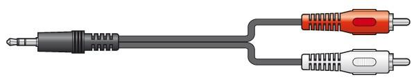 SKYTRONIC STC-25 MiniPlugi 3,5mm -RCA-ka, discoland.fi