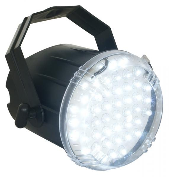 BEAMZ LED strobe valkoisilla 48x 8mm LED, discoland.fi
