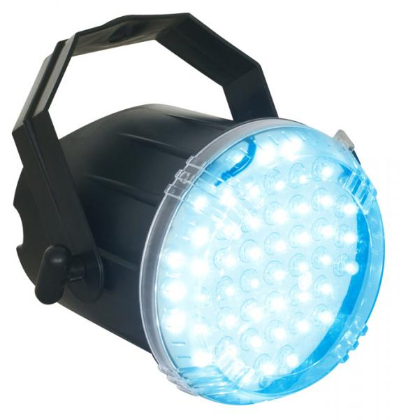 BEAMZ LED strobe sinisillä 48x 8mm LED:, discoland.fi