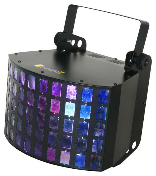 BEAMZ Multi Dekker LED Pro 3X 3W RGB DMX, Effect with LED technology, LED-valoefekti!