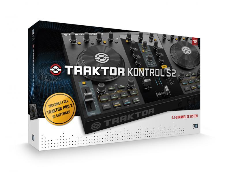 NATIVE INSTRUMENTS Traktor Kontrol S2 MK2, DJ-kontrolleri varustettu interfacella! huippuluokan Kontrolleri dj käyttöön traktro PRO softalla!Traktor Kontrol S2 on 2.1-kanavan DJ-järjestelmä pitäen sisällään kaikki tarvittavat toiminnot kuten kaksi dekkiä, mikserin ja erilliset efektiosiot. <br /> Innovatiivinen 2.1-kanavan konsepti lisää kahden dekin rinnalle kolmannen sample-kanavan jolla voit miksata korkeintaan 8 samplea tai looppia mukana tulevalla Traktor Pro 2-ohjelmistolla. <br /> Kompaktin kokonsa ja jämäkän rakenteensa ansiosta Traktor Kontrol S2 kulkee helposti mukana keikalta keikalle.