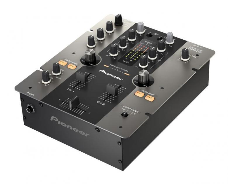 PIONEER <b>B-STOCK!!!</b>DJM-250 Musta m, discoland.fi