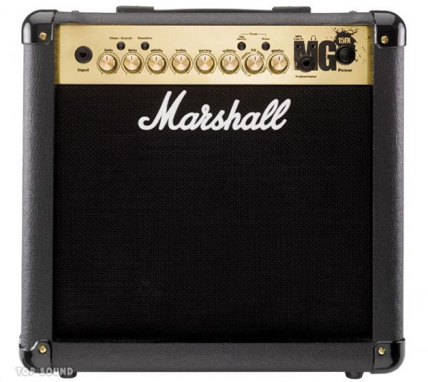 """MARSHALL Kitarakombo MG15FX, 15W, 8"""" k, discoland.fi"""