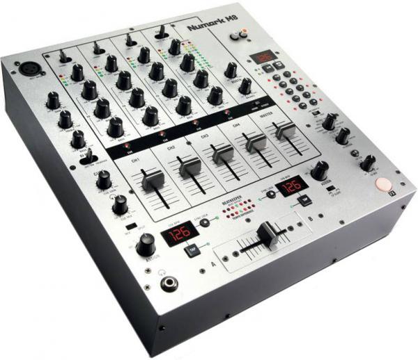 NUMARK M8 DJ Mikseri, Neljä kanavaa Sek, discoland.fi