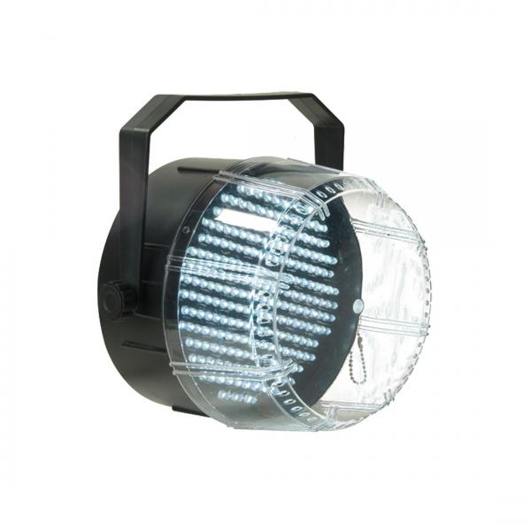 AMERICANDJ Flash shot DMX LED Strobo 0-10V, 234 valkoista LED-iä.