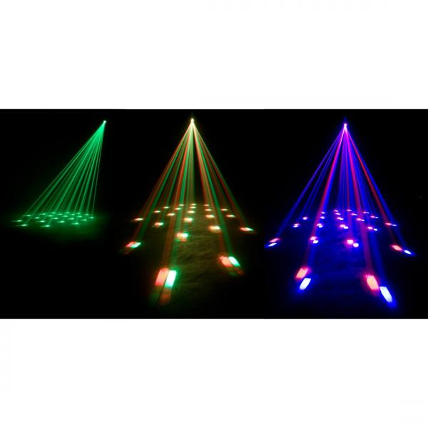 AMERICANDJ Loppu!!VIO Moon LED DMX, tehokas LED valoefekti RGBW 10W Ledillä!