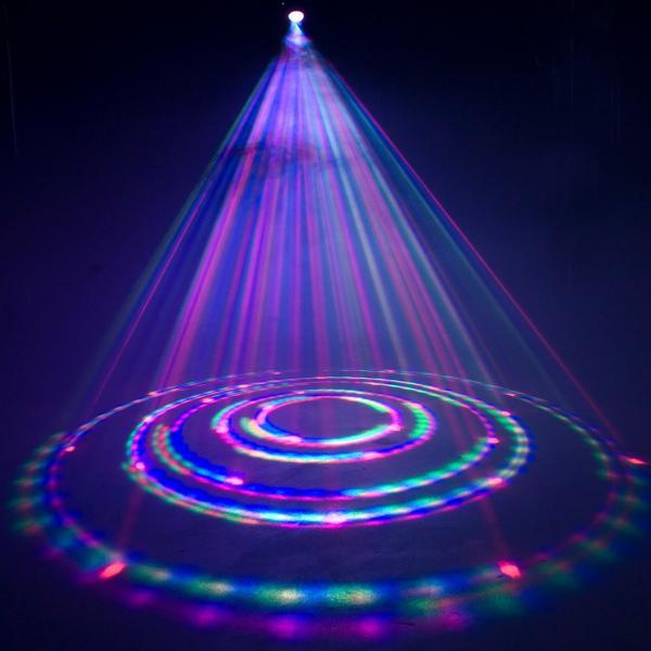 AMERICANDJ TRI Pearl LED DMX moon, tehokas LED valoefekti!