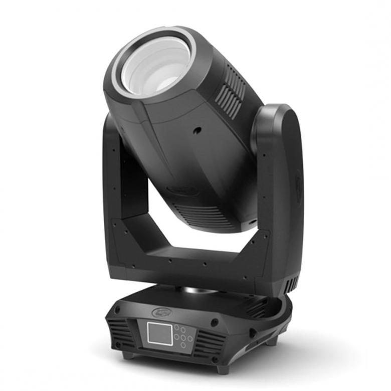ELATION Platinum SBX moving head spotti 5000 lumenia The Platinum SBX PRO™ is an innovative full featured patent pending design 3-in-1 illuminare which can be utilized as a beam, spot, or wash fixture, featuring the brand new Phillips™MSD Platinum 17R 350W, 6,900K, 85CRI lamp, 15,000 total lumens delivering comparable output to 700W fixtures, 0° to 15° zoom in beam mode and 5° to 40° zoom in spot mode, 13 dichroic colors including UV, CTO, CTB, plus white (open), 9 rotating interchangeable and 14 fixed gobos, beam shaper and rotating 8-facet prisms, frost filter, 3 and 5 pin DMX in/out and powerCON connections, (6) button control full color 180° reversible menu display, 500W max power consumption, and a multi-voltage universal auto switching power supply (100-240v).
