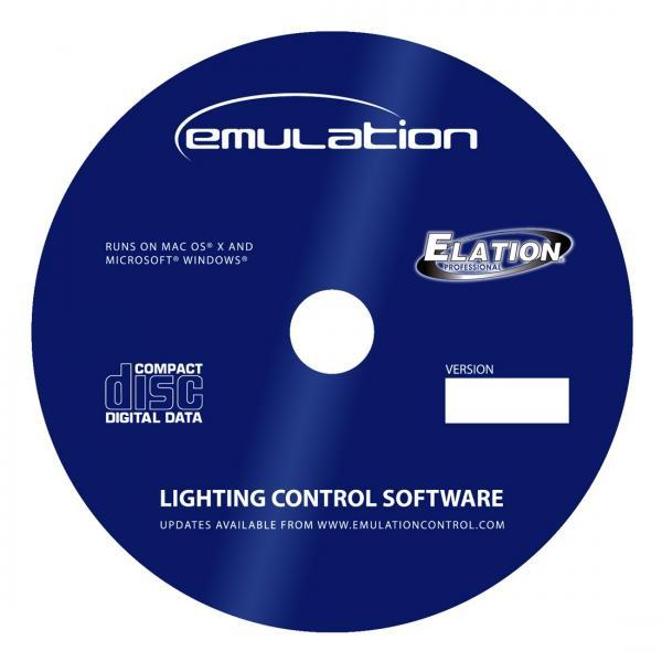 ELATION EmuLATION-DMX software toimii myös kosketusnäytöillä! Voidaan kontrolloida kaukosäätimen tapaan Ipad sekä Iphone kautta. Mukana tulee softa Applen Pad seä iphoneen riggers remote. DMX512 sekä artnet. Emulation softa on tehty erityisesti älykkäille DMX 512 valoille. Toimii Mac sekä Windows, myös Windows 8.