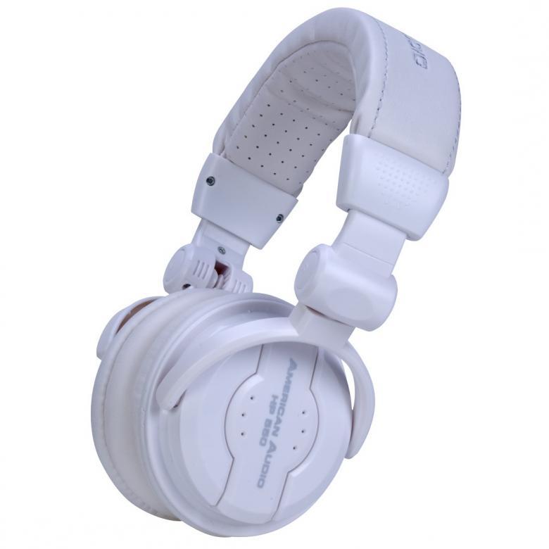 ADJ HP550 Snow DJ-kuulokkeet valkoinen P, discoland.fi