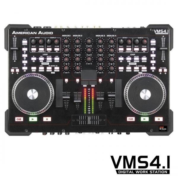 ADJ VMS4.1 Kontrolleri+ Mikseri 4-kanava, discoland.fi