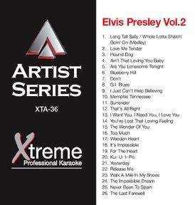 XTREME CD+ G Xtreme Artist 036 - Elvis P, discoland.fi