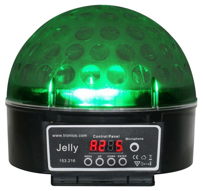 BEAMZ Magic Jelly 6x 3W DJ Ball DMX moniväri led valoefekti DMX ohjattava! Kotiin, keikalle, bileisiin piristäjäksi tai vaikka baariin! Tämä valoefekti on todella upean näköine ja voidaan asentaa tasolla, eli pöydälle tms. tai kattoon. Todella hieno kaksi yhdessä valoefekti. Läpikuultava valo sekä säteet. Mitat 195x190x190mm sekä paino 1.0kg.