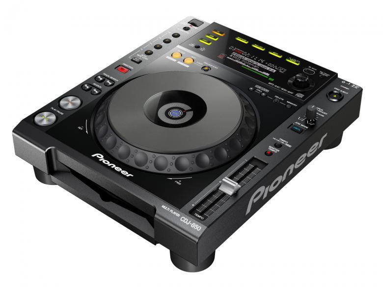 PIONEER CDJ-850K DJ CD-soitin musta toim, discoland.fi