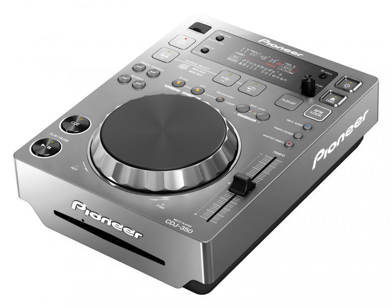 PIONEER CDJ350 CD USB DJ soitin. Hopea. , discoland.fi