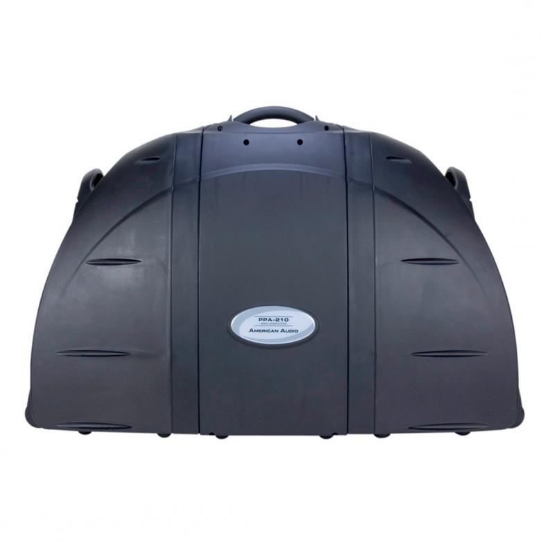 ADJ PPA-210 2x 150W siirrettävä äänentoisto järjestelmä!Näppärä muusikoille tai kaikille keikkaileville muusikoille, tiskijukille tms.Mobiile setti, jossa 2kpl 10