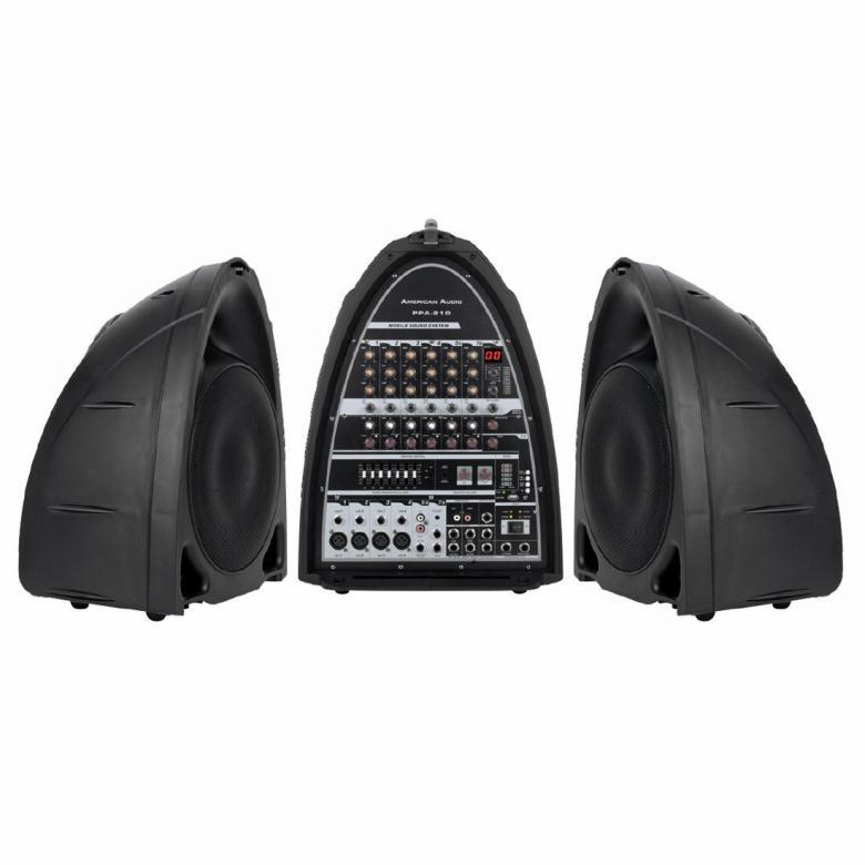 ADJ PPA-210 2x 150W siirrettävä ääne, discoland.fi