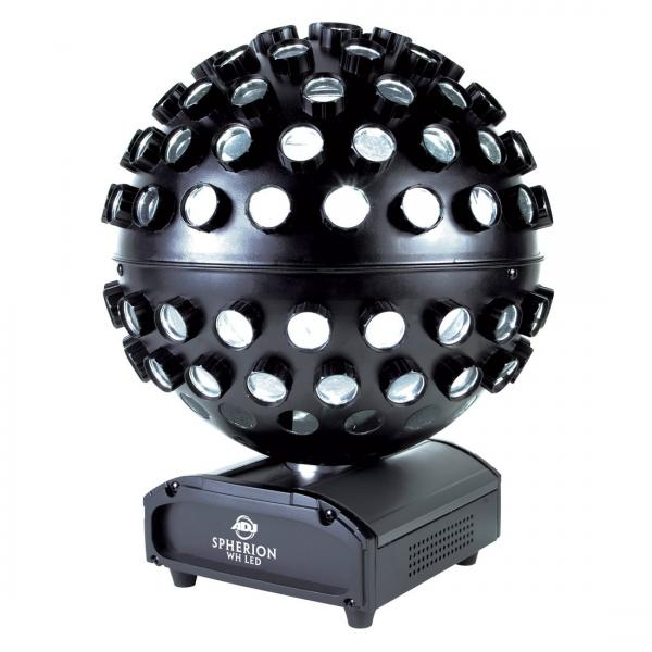 ADJ Spherion WH LED valkoisilla, tehokas, discoland.fi