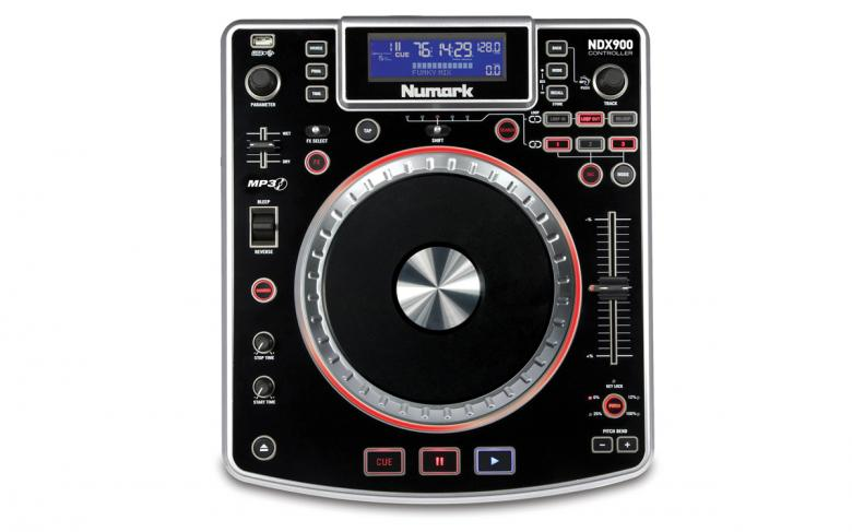 NUMARK NDX900 DJ CD soitin ohjain MP3/CD, discoland.fi