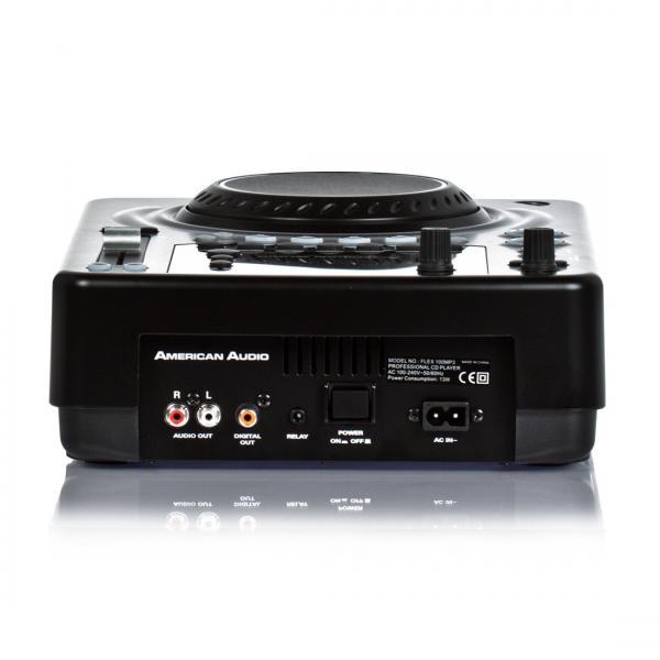ADJ Flex100 MP3DJ CD/MP3 CD soitin Efekteillä, soveltuu DJ käyttöön sekä vaikka ryhmäliikuntaan!poisto!!