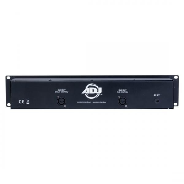 POISTO ADJ Duo Station valoohjain LED RGB Tämä ohjain on Hybridi ja soveltuu RGB led vaoille 3 kanavan ohjaus sekä katkaisee päälle ja pois valoefektejä tms. Muita laitteita tämä paneeli sopii useimmille American DJ sekä eurolite tuotteille! Tällä ojaimella voit ohjata vaikka 10kpl led heittimiä, sekä 8kpl valoefekteja on of kontrollin kautta.Mitat 483 x 91,5 x 86,4mm sekä paino 1,55kg.