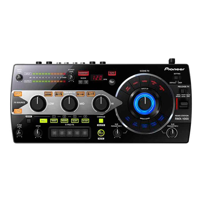 PIONEER RMX-1000 Remix station. Station musta, efektori tälle vuosituhannelle. Huippuluokan digitaalinen artistikontrolleri FX.