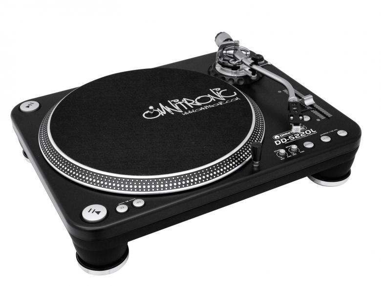 OMNITRONIC DD-5220L Suoraveto DJ-levysoi, discoland.fi