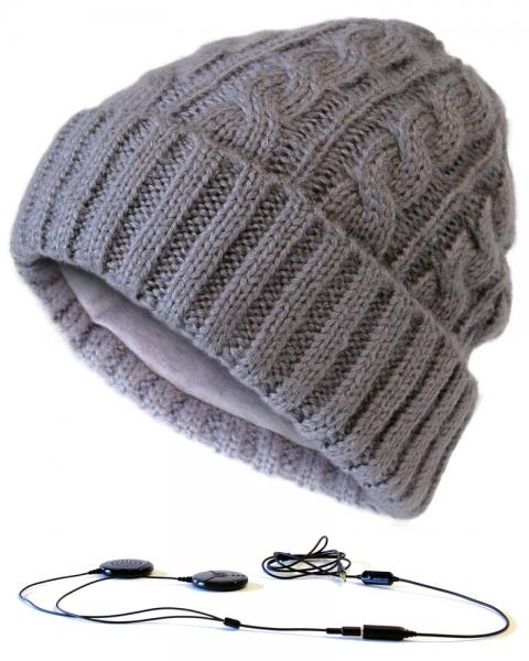 AERIAL7 Sound Disc beanie, MAMMOTH GREY,, discoland.fi
