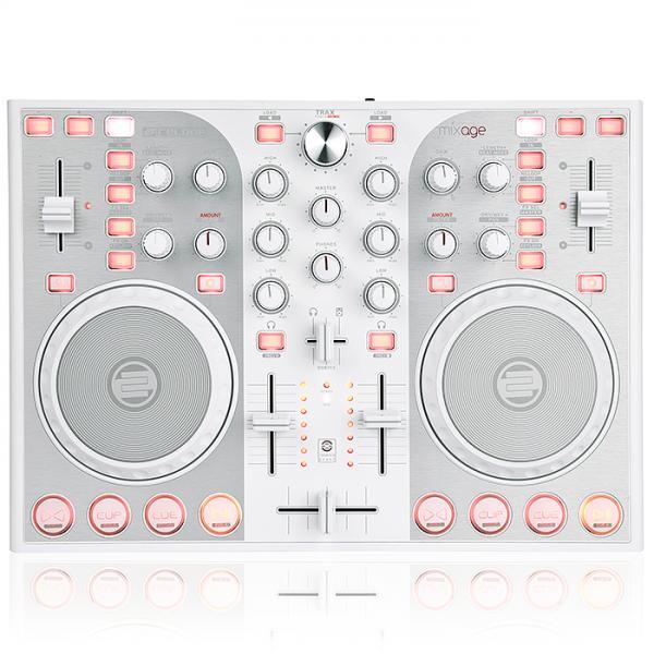 RELOOP Poisto!MIXAGE CE Valkoinen DJ kontrolleri varustettu TRAKTOR LE softalla.