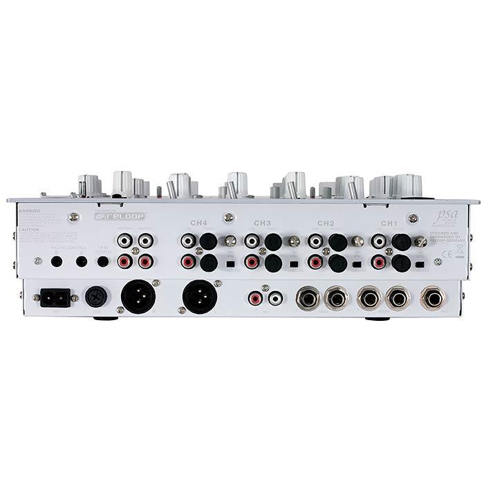 RELOOP RMX-40 LTD DJ-mikseri Premium DJ-tuote. 4-kanavainen DJ-mikseri Efektilaitteella. Huippuluokan premium DJ-mikseri. 40 kappaletta digitaalisia DSP-efektejä, jotka ovat erittäin hyvä soundisia. 31.1.2015 asti mikserin ostajalle Violetit RHP-5 kuulokkeet kaupan päälle!!!