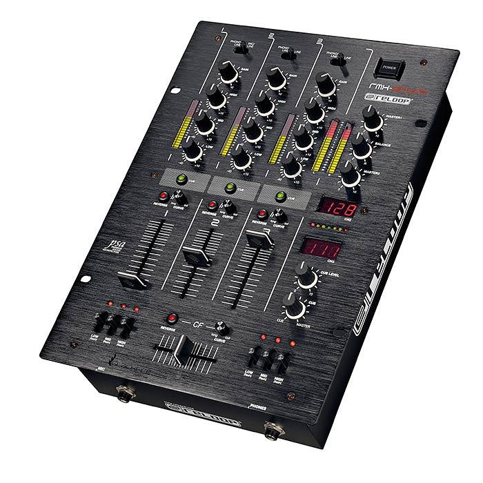 RELOOP RMX-30 BPM Blackfire edition DJ mikseri,  kolmikanavainen Premium luokan huippu DJ tuote. Tässä mikserissä on nopeudennäyttö. Upea viimeistely, harjattu alumiini ja musta eloksointi. Luonnossa hohtavan upea mikseri. Loistavat ominaisuudet Tiskijukalle kotiin tai clubiin.