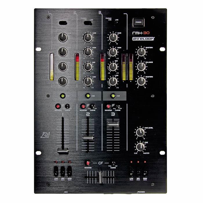 RELOOP RMX-30 DJ mikseri, Premium luokan, discoland.fi