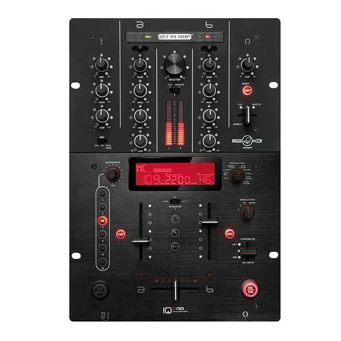 RELOOP Reloop IQ2 MIDI USB DJ mikseri on, discoland.fi