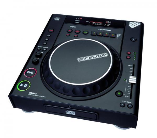 RELOOP RMP-1 MK2 B Musta DJ CD soitin hu, discoland.fi