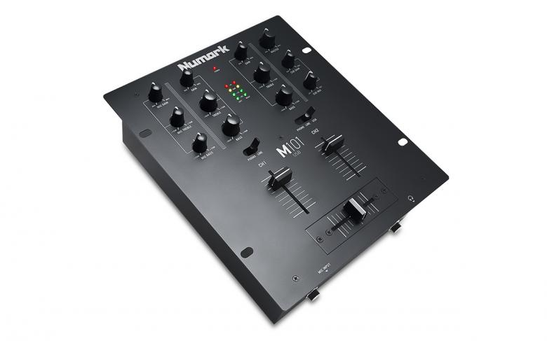 NUMARK M101USB 2–Kanavainen DJ-mikseri, discoland.fi